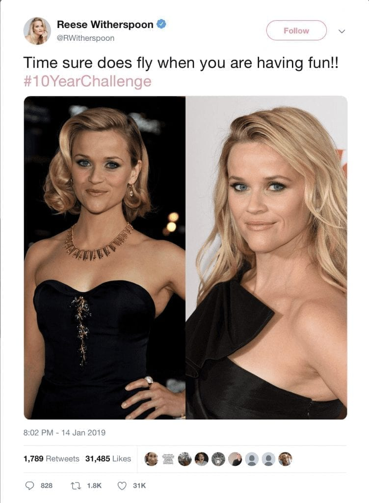 Reese-withersppon-10-year-challenge