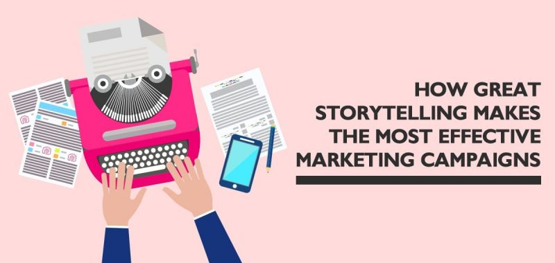 Using effective storytelling to create a compelling marketing campaign