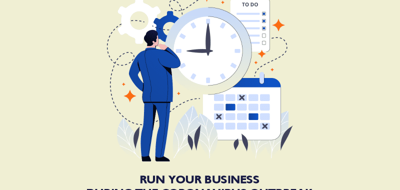 Running a business in the time of COVID-19