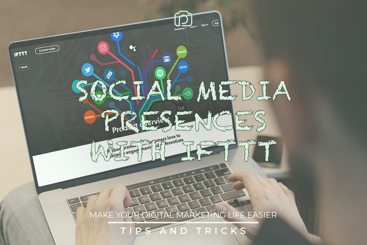 Connecting IFTTT to your social media
