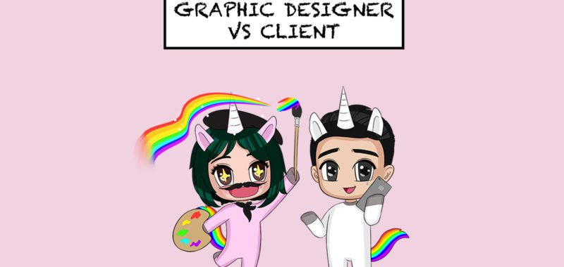 The design face-off: graphic designer vs client