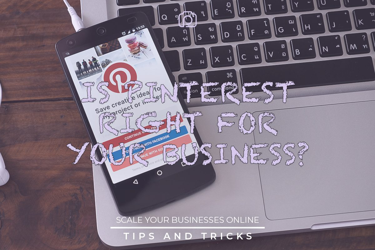 Is Pinterest right for your business?