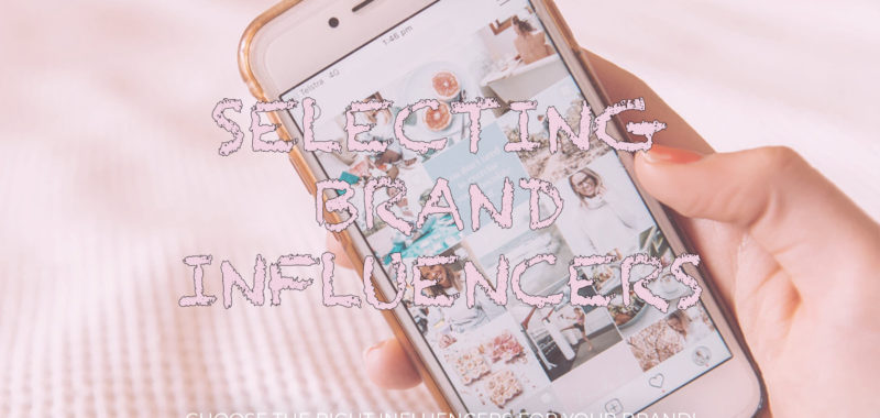 Selecting brand influencers