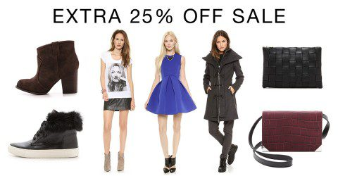 End the year with Shopbop's SALE!