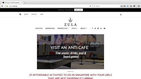 Zula.sg – Connecting Gen Y Singaporean Women