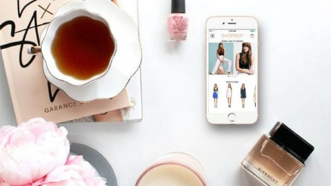 Shopping with Shopbop App
