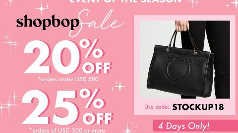 The much-awaited Shopbop sale!