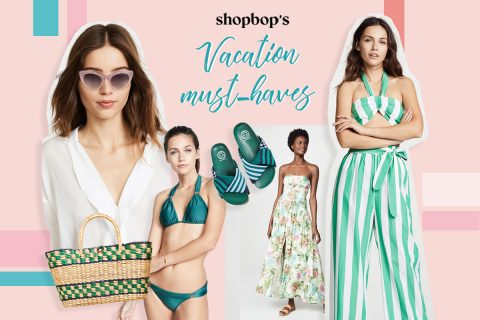 Up your holiday game: Shopbop's vacation must-haves