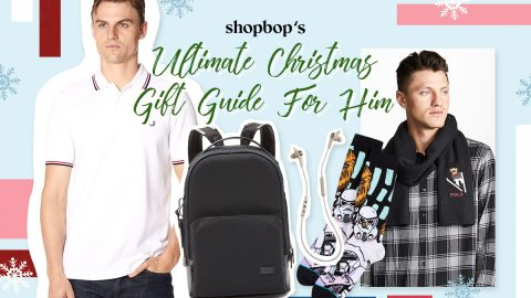 An exclusive Shopbop edition Christmas gift guide for him