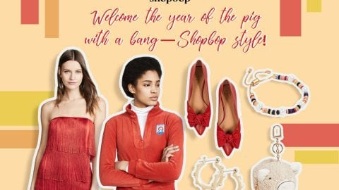 Welcome the year of the pig with a bang – Shopbop style!