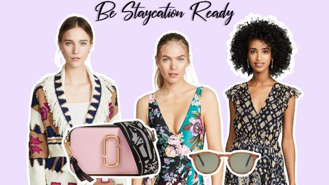 Get Fashion Ready for a Staycation