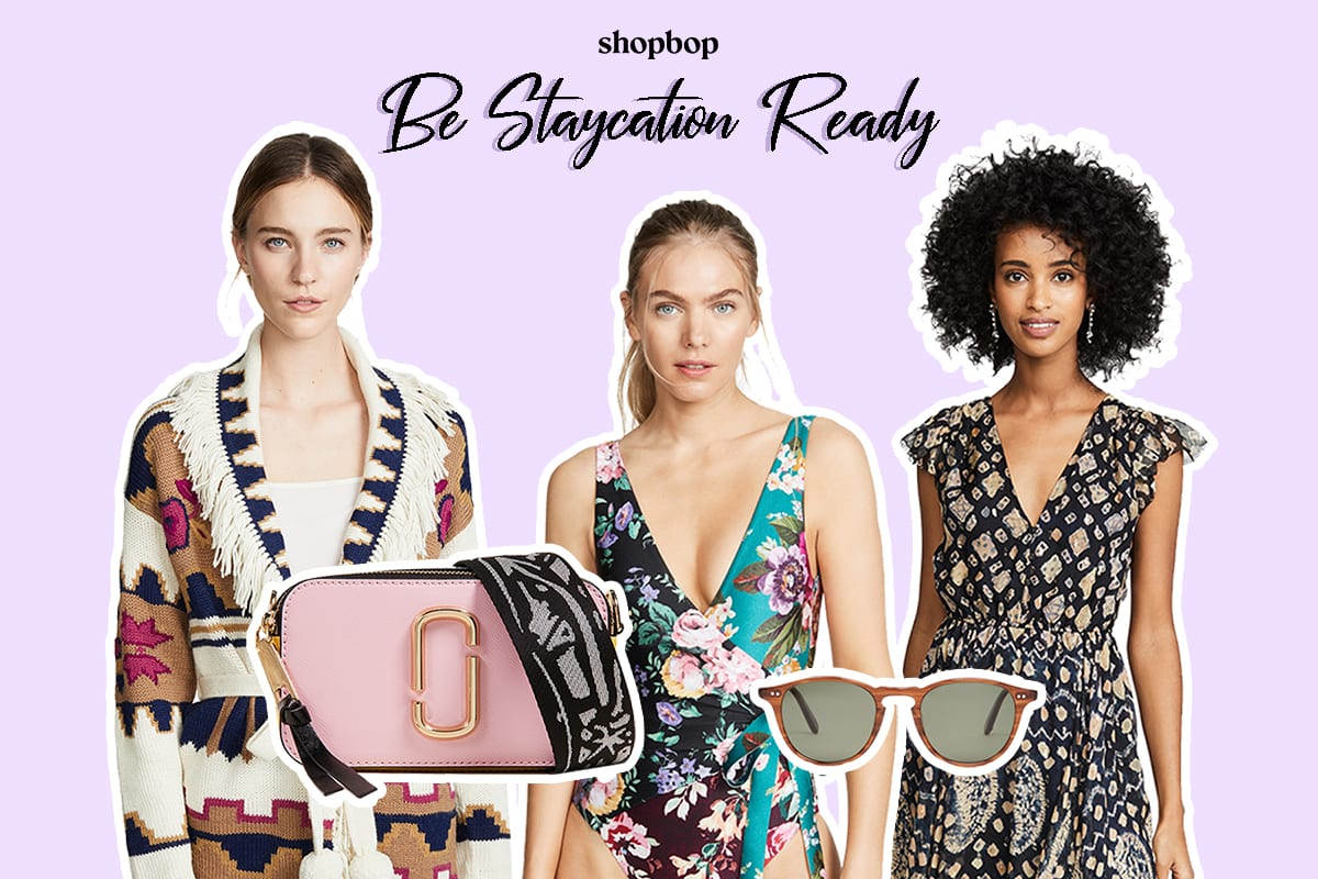 shopbop Get Fashion Ready for a Staycation