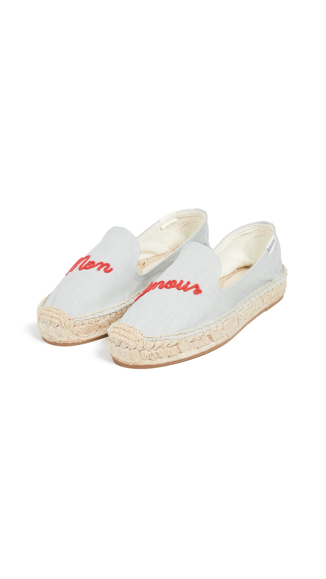 shopbop Soludos Mon Amour Smoking Slippers