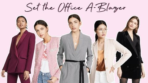 Set the office a-blazer