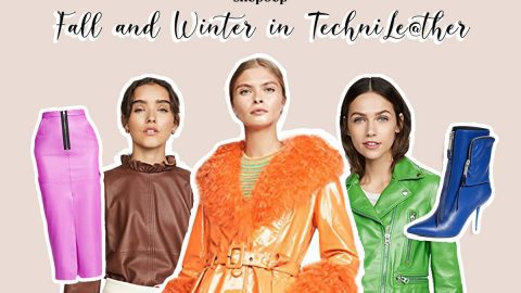 Fall and winter in techni-leather